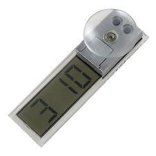 Durable Electronic Mini LCD Digital Auto Clock Windshield Sucker Car Dashboard