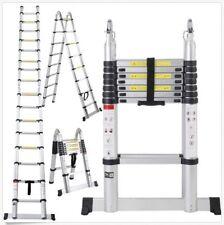 Ladder 16.5 ft Aluminum Folding Telescoping Telescopic Extension Multi Purpose +