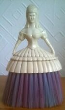 CRINOLINE  LADY CLOTHES BRUSH, WHISP. CHARITY SALE