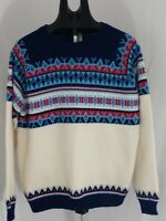 vintage rare Alpine collection 80s 90s winter christmas Large sweater acrylic
