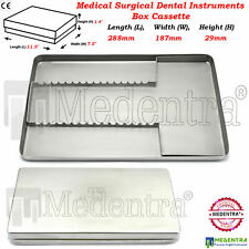 MEDENTRA® Medical Surgical Dental Instruments Box Tray Cassette Sterilization CE