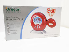 OREGON SCIENTIFIC OROLOGIO SVEGLIA DIGITALE RADIOCONTROLLATO ROSSO RM816P-R