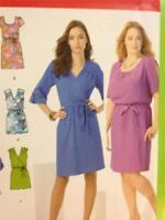Simplicity Sewing Pattern 1796 Ladies / Misses Dress Size 20W-28W Uncut