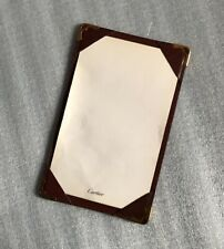 Cartier Leather Jotter Memopad Notepad Memo Note Credit Card Holder