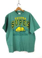 Vintage Tacoma Supes Tshirt 1990s Sports T-shirt Tacoma Washington Xl