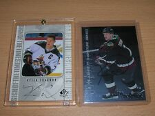 KEITH TKACHUK  AUTOGRAPH LOT COYOTES
