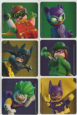 "30 Lego Batman Movie Stickers, 2.5"" x 2.5"""