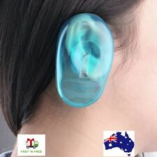 Clear Silicone Ear Cover Hair Dye Shield Protect Water Noise Protection Salon