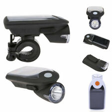 Lampe Rechargeable Solaire Torche Vélo Bike Usb Rechargeable Lumière À Led