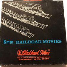 "8mm 7"" Railroad Movies Blackhawk IRON HORSE CENTENNIAL 1927 Vintage In Great Box"