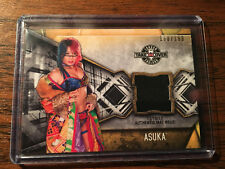 2017 Topps WWE Women's Division NXT Takeover London Mat Relic Asuka 168/199