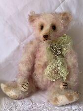 """12"""" Mohair Artist Teddy """"Eloise Webbery"""" by Rachel Ward of Barricane Bears OOAK"""