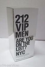Carolina Herrera 212 VIP Men 100ml 3.4 oz Eau de Toilette EDT New 100% Original
