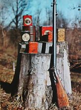 Old Black Powder Musket old tin cans on stump