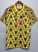 Arsenal Bruised Banana Retro Football Shirt 1991 1993 New Why Wear 2021 Small S