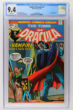 Tomb of Dracula #17 - Marvel 1974 CGC 9.4 Blade Appearance.