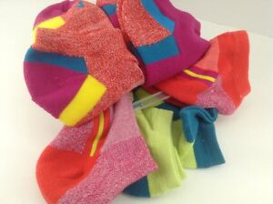 Women's FILA Brand Bright Colors Athletic Socks - 6 Pack - $36 MSRP