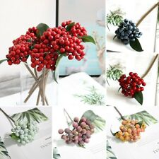 European-Style Artificial Flower Small Fruit Bunches Living Room Decor Durable