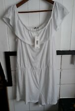 Womens Holiday Ladies Summer Shorts Jumpsuit Beach Dress new size 16