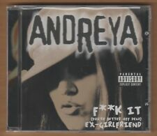 "Andreya cd ""F*K It You're Better Off Dead"" 2004 Thump New Sealed Rap 8 Tracks"
