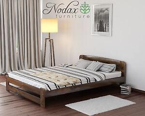 NODAX Super King Size Bed 6ft Wooden Bedframe Headboard&Footboard Slatted Base