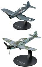 Lot de 2 Avions WW2 Focke et Chance Corsair 1/72 militaire diecast DeAgostini