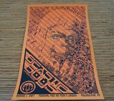 Beastie Boys Concert Poster Todd Slater Philadelphia Pa S/N Print