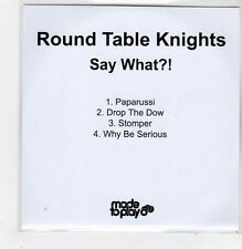 (FF179) Round Table Knights, Say What?! - 2011 DJ CD