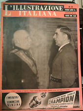L'ILLUSTRAZIONE ITALIANA 25 MAG. 1941 DUCE A PALAZZO VENEZIA POGLAVNIK  I-11-86