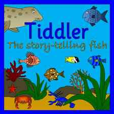 TIDDLER The story-telling fish -story resources on CD- Under the Sea, EYFS, KS1