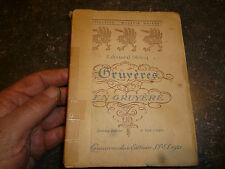 Gruyères en Gruyère : Edouard Diricq : Editions Spes Lausanne 1921