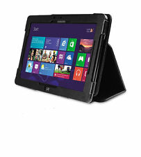 Samsung ATIV PC / Slate XE700T1C Black Folio Leather Case + Screen Protector