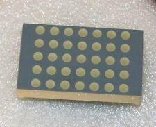 """x1 dot matrix led display 1.2"""" zoll 5x7 in rot/grün/gelb 3mm dot-usa"""