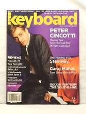 KEYBOARD MAGAZINE PETER CINCOTTI GARAJ MAHAL KORG BACK ISSUE MAY 2005 VERY RARE