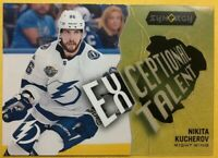 2017-18 UD Upper Deck Synergy Exceptional Talent Insert #ET-9 Nikita Kucherov