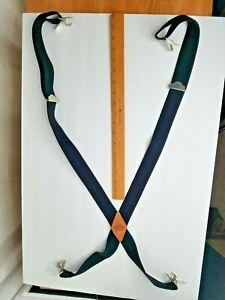 Dickies Men's Suspender Black Perry Clip X Back Suspenders 1-Size Adjustable