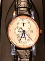 STAUER VEN4 WATCH 15751 JAPAN MOVEMENT 5ATM WATER RESISTANCE ROSE GOLD