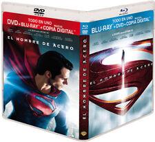 El hombre de acero Blu-ray Warner Home video