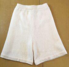 Vintage Tony Lambert Womens Sz S Sweater Shorts Ivory Lambswool Angora Blend