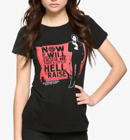 Supernatural CROWLEY HELL TO RAISE Girls Women's T-Shirt NEW Licensed & Official
