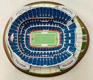 NIB Danbury Mint Invesco Field at Mile High Denver Broncos Football Stadium NFL