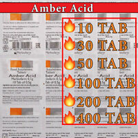🔥🔥🔥 AMBER ACID | 10 - 400 TAB| NATURAL ANTI-OXIDANT |Succinic Acid |EXP 06/22