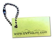 UV Gear Tag Glow in the Dark Tactical Night Light Nite Lite Bags Keys Camping
