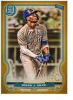 Jorge Soler 2020 Topps Gypsy Queen 5x7 Gold #269 /10 Royals