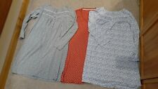 Croft and Barrow & Tommy Hilfiger long sleeved nightgown LOT - size Medium