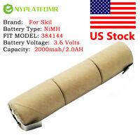 4/5SC 2000mAh for Skil 3.6V Ni MH Battery Pack CD 384144 for self-installation