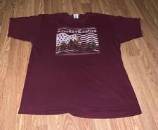 Crooks And Castles Size Large T-shirt Pre-Owned Maroon