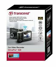 "Transcend DrivePro 520 (32GB) In Car 2.4"" Full HD 1080p Video Recorder (Black)"