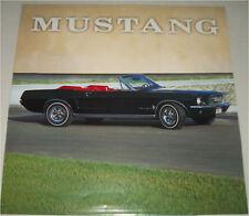 1967 Ford Mustang Convertible car print (black, no top)