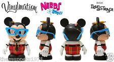 NEW In Box- Disney Vinylmation Nerds Rock - Mickey (Old Mold!!)